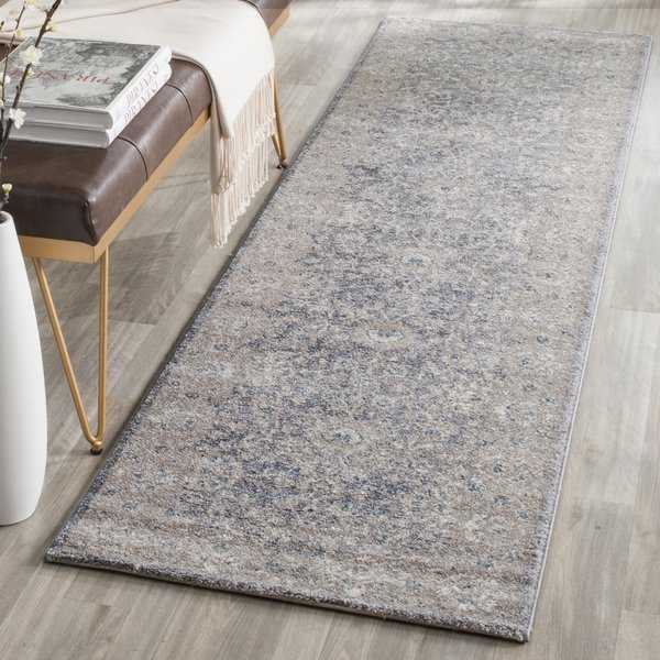 Safavieh Sofia Vintage Oriental Light Grey/ Beige Runner Rug - 2'2' x 10'